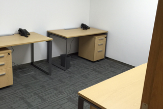 4 person office