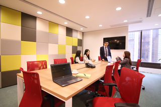 Boardroom meeting facilities
